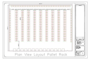 AutoCAD Layout Drawing