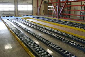 Pallet Gravity Conveyor Photo
