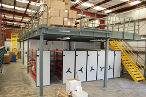 Mezzanine, Mobile and Bulk Storage Photo