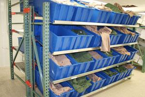Unit Pick Flow Rack Photo